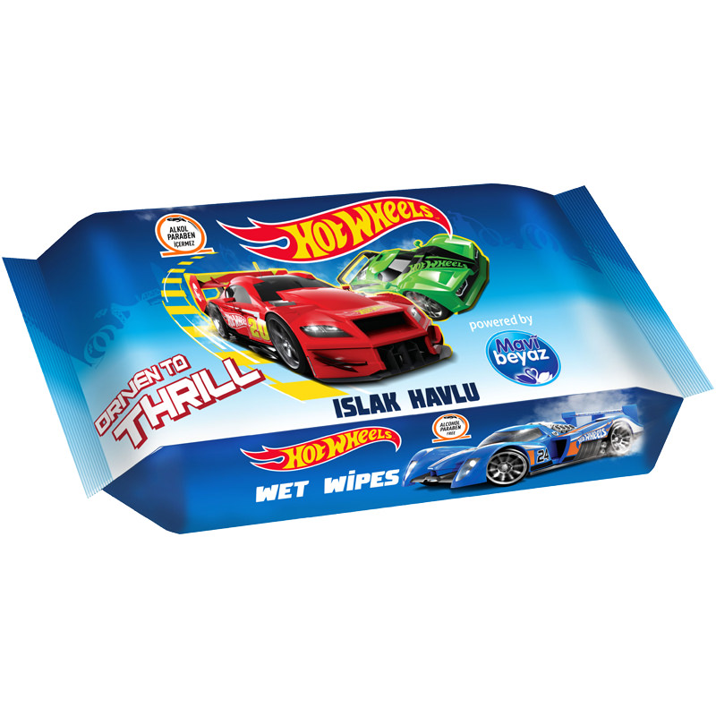 Hot Wheels Wet Wipes