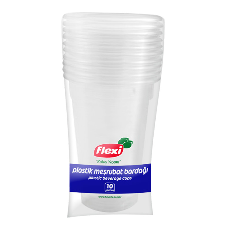 Flexi Plastic Beverage Cups