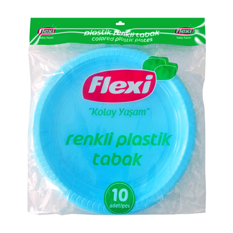 Flexi Colored Plastic Plates